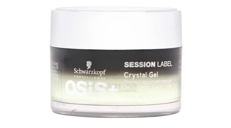 Crystal rock extract is a unique ingredient used in this gel that helps manipulate defined textures.