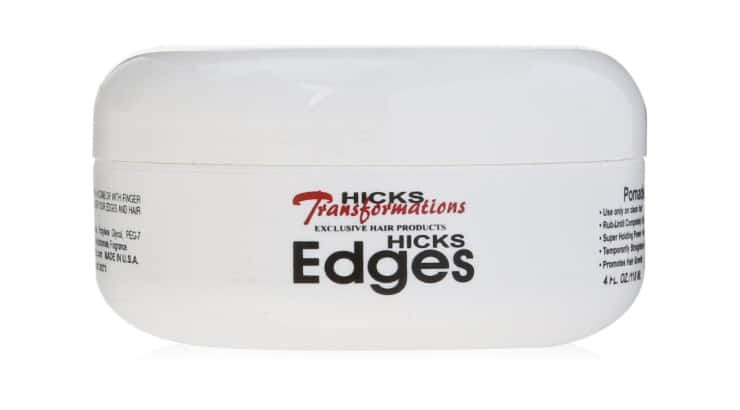 Hicks Total Transformation Edges Styling Gel is a product that works well on natural and relaxed hair.