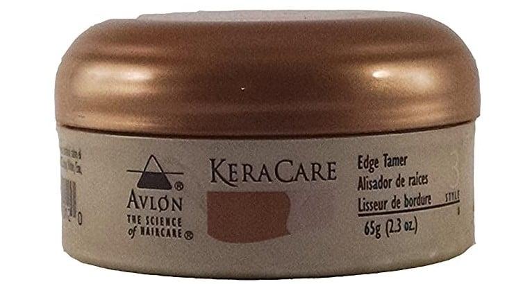 Avlon's Keracare Edge Tamer smooths down unruly edges.