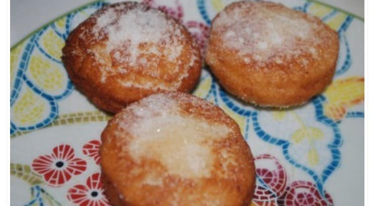Mandazi is a traditional Eastern Africa food that has milk, sugar, and yeast.
