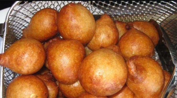 In Nigeria, mandazi is called puff puff.