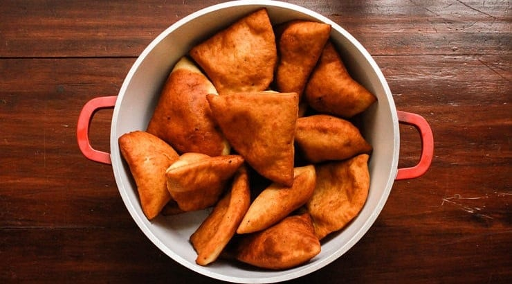 Mandazi and its variations are found all over the African continent, including in countries like Nigeria, Congo, and Somalia.