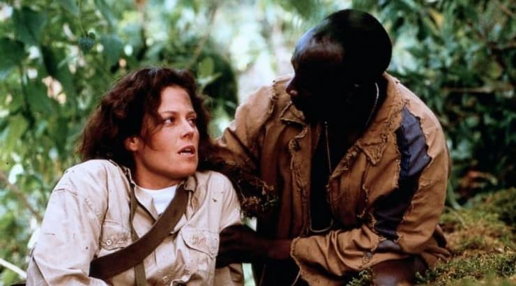 Gorillas in the Mist follows the story of Dian Fossey, a primatologist who was looking to end poaching in Rwanda.