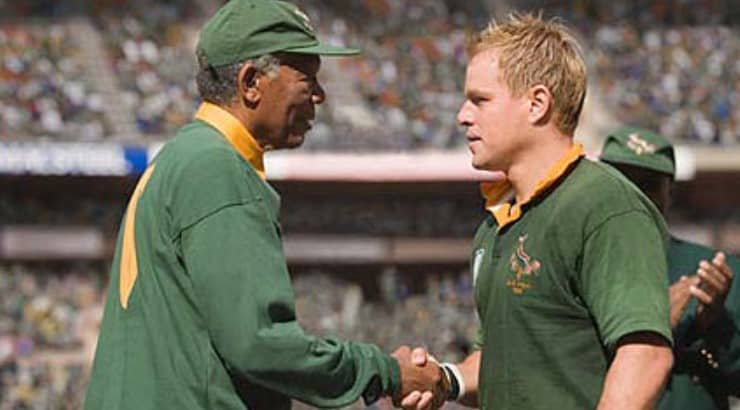 Invictus tells the story of the South African Rugby Team after apartheid is ended in the country.