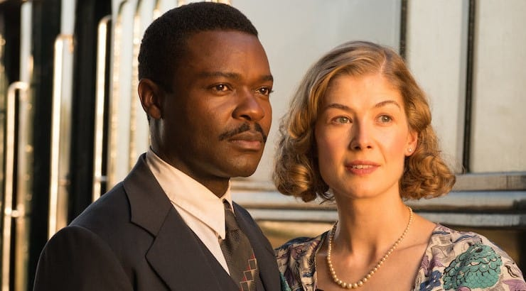 A United Kingdom follows the love story of Botswana's former president, Seretse Kharma.