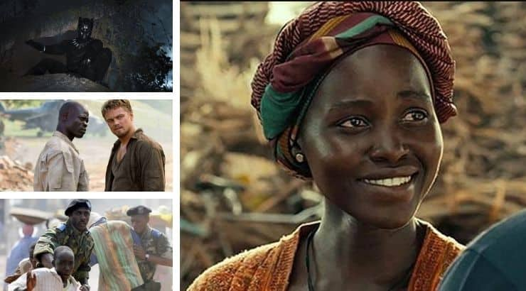 Movies based on Africa often tell both their tumultuous and triumphant stories.