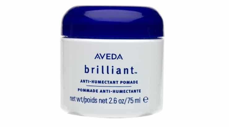 The Aveda Brilliant Anti-Humectant Pomade is going to protect hair from all the negative effects of humidity.