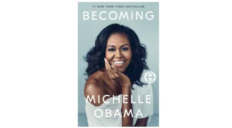 Becoming by Michelle Obama is the memoir of the former first lady who tells her life story beginning with her youth in Chicago.