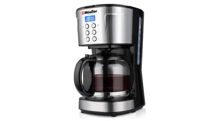 The Mueller Ultra Coffee Maker allows users to control the strength of their coffee.