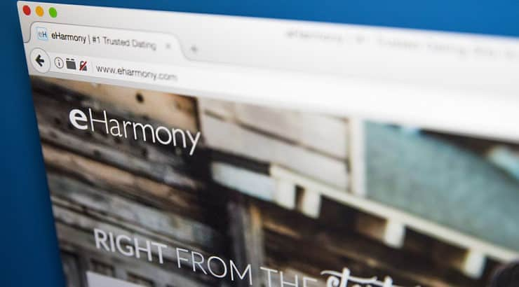 Eharmony has a love connection every 14 minutes in the United States.