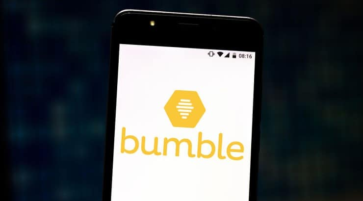 Bumble is a dating platform where women are responsible for first messages.
