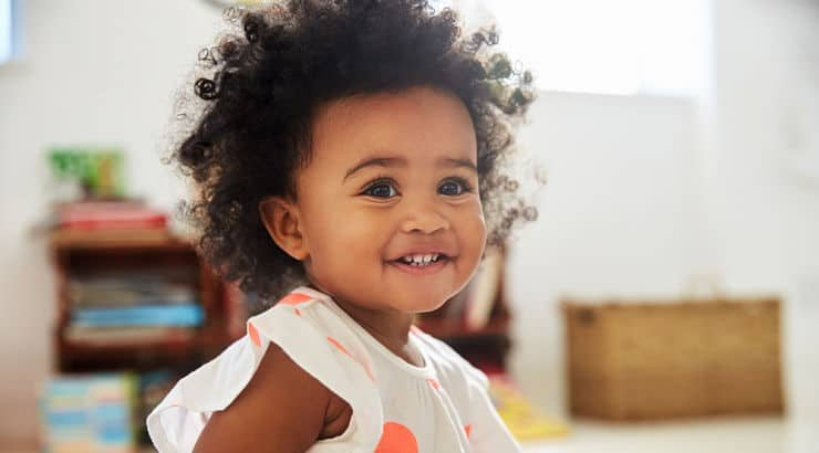Amena, Serena, and Dominique are beautiful, meaningful names for Black baby girls.