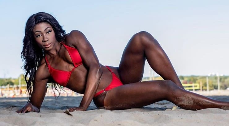Shenese is an IFBB BIkini Pro who does private coaching and training.
