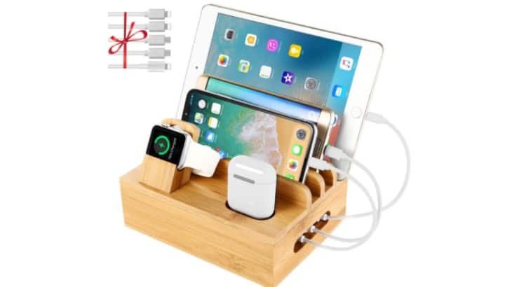 With men owning tons of gadgets, a docking station will allow him to charge all his items together.