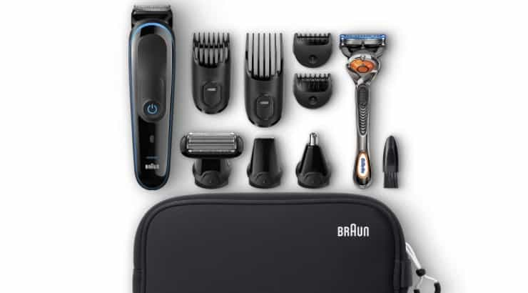 Grooming kits are ideal for the men who prefer to handle their own facial and body hair.