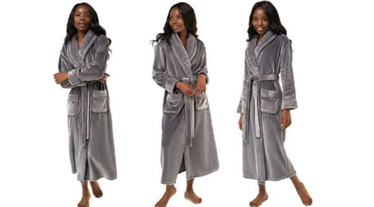 Bathrobes are a comfortable gift for your Black girlfriend.
