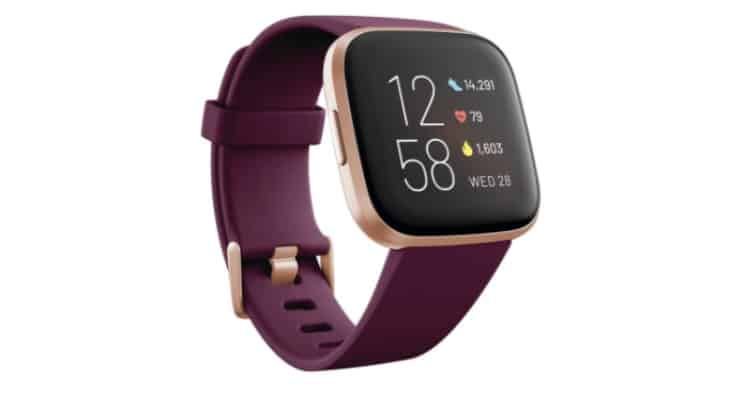 The Fitbit is a popular fitness tracker that monitors steps and heart rate.