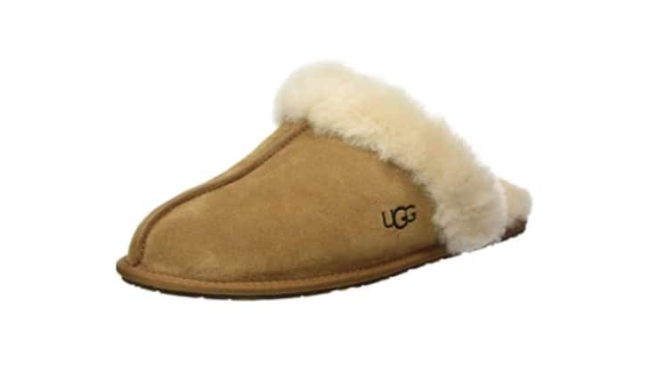 UGG is a popular brand that makes comfortable boots and slippers.