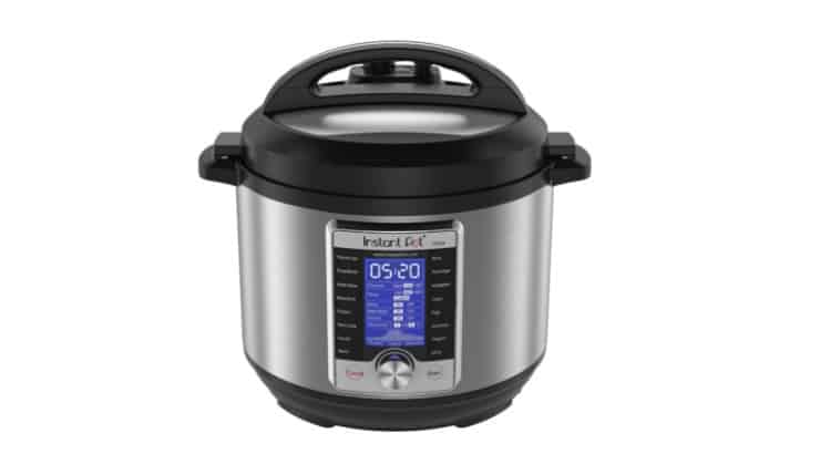 The Instant Pot Ultra is a pressurized cooker that makes meals easier.