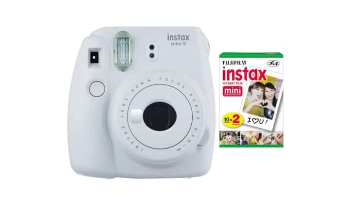 The Fujifilm Instax is a great gift for those who like to have their pictures instantly printed.