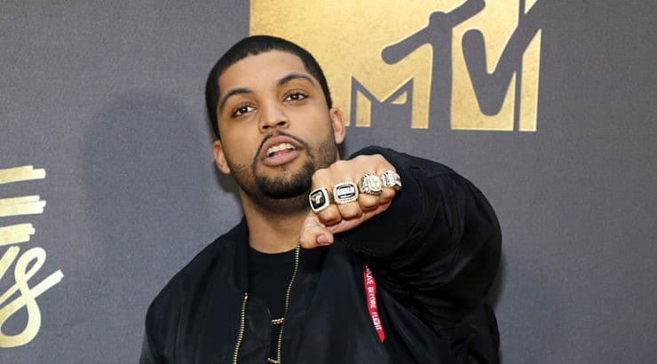 O'Shea Jackson Jr. is the son of rapper Ice Cube.