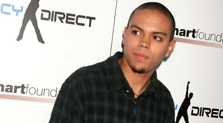 Evan Ross is the son of the incomparable Diana Ross.