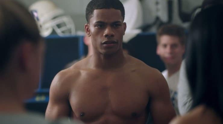 "Jordan Calloway currently stars in the series ""Black Lightning."""