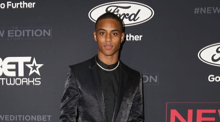 "Keith Powers is a young actor who has earned roles in ""Straight Outta Compton"" and ""The Tomorrow War,"" the latter set to be released in 2021."