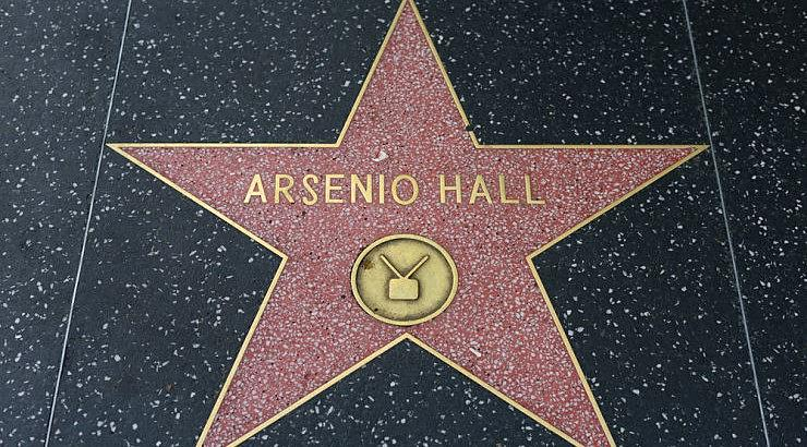 """Arsenio Hall hosted """"The Arsenio Hall Show"""" from 1989 to 1994."""