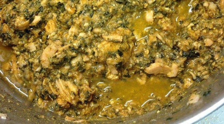Egusi is a popular Nigerian dish that is made from melon seeds.