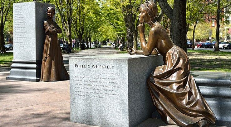 Phillis Wheatley was the first African-American author of a published book of poetry.