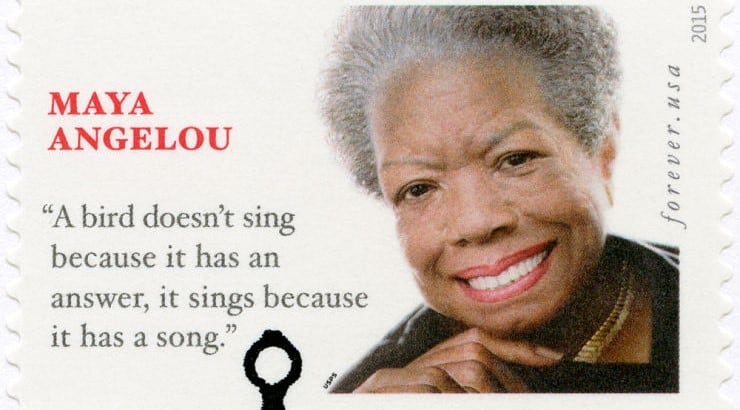 "Maya Angelou is widely-recognized for her book ""I Know Why the Caged Bird Sings."""