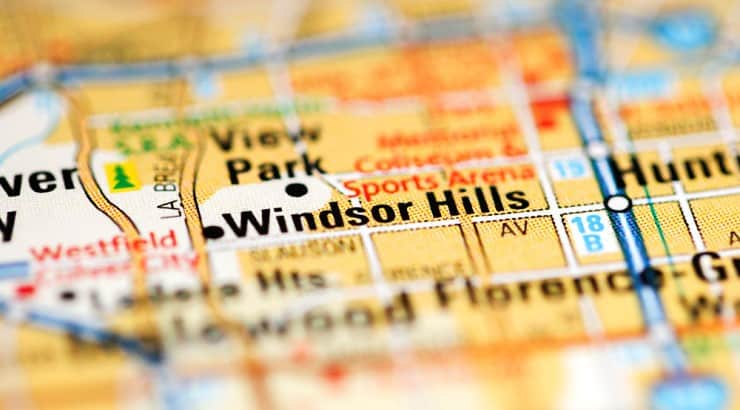 The median household income for residents in Windsor Hills is $97K.