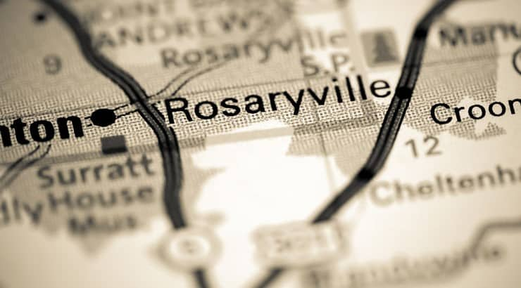 Rosaryville, Maryland, has 60% Black population with a median household income of $128K.