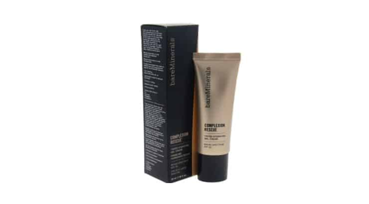 The BareMinerals Complexion Rescue Tinted Hydrating Gel Cream is a product for Black women with buildable coverage and 20 shades to choose from.