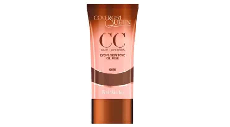 The CoverGirl Queen Collection CC Cream is a flawless, natural finish product made for women with deeper skintones.