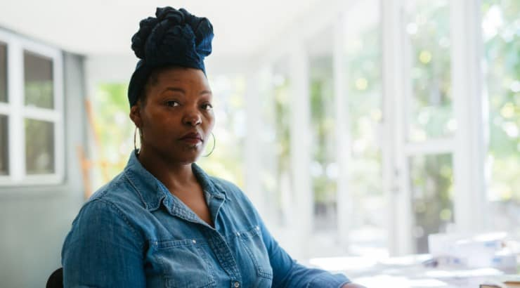 Mahogany L. Browne often pulls from society and social injustice as topics for her poetry.