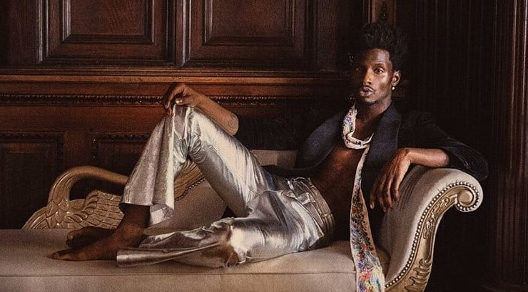 Adonis Bosso as discovered in 2009 and has done editorial work for brands like Gap, H&M, and Banana Republic.
