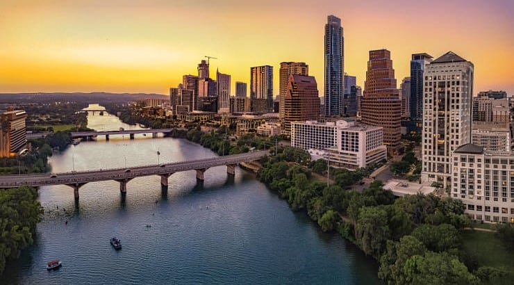 Austin, Texas, is known for its warm climates as well as beautiful outdoors.