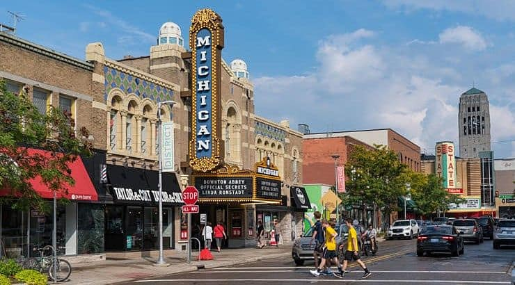 Ann Arbor, Michigan, is home to the University of Michigan - where they offer tons of mini courses for their over-50 residents.
