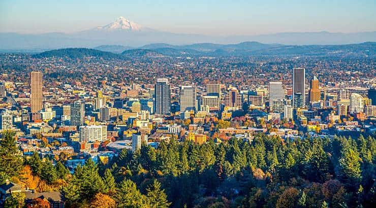 Portland, Oregon, holds 2/3 of the state's entire Black population.