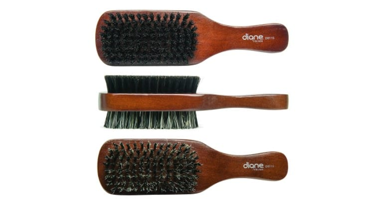 The Diane 100% Boar 2-Sided Club Brush is perfect for those at any stage of creating or maintaining waves.