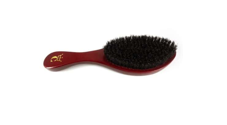 The Crown Quality Soft Bristle Brush is perfect for those with short, fine hair or other who have a sensitive scalp.
