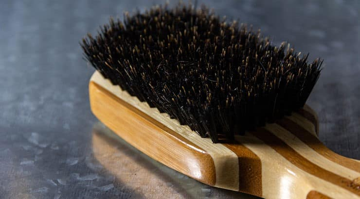 A wave brush is a brush that is meant to bring out your hair's natural wave or curl pattern.