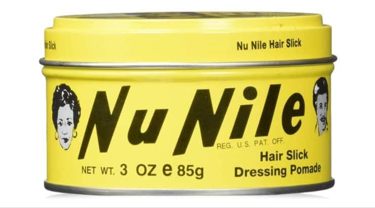 Murray's Nu Nile Hair Slick Dressing Pomade works well on shorter, finer hair.