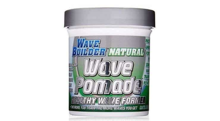 The WaveBuilder Natural Wave Pomade is water-based making it easy to wash out of the hair.