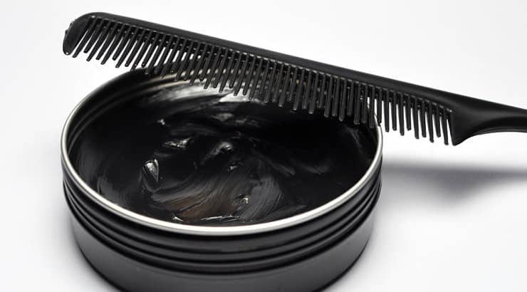 A pomade is a greasy, waxy, or water-based substance that is used to style hair.