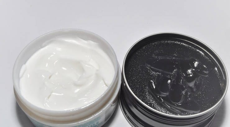 The major difference between oil-based and water-based pomades is that the latter reacts to water making it easier to wash out.