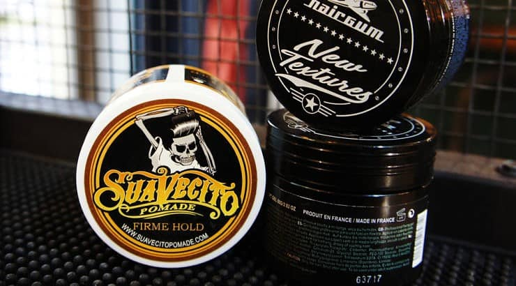 Pomade should be applied to the hair in small increments.