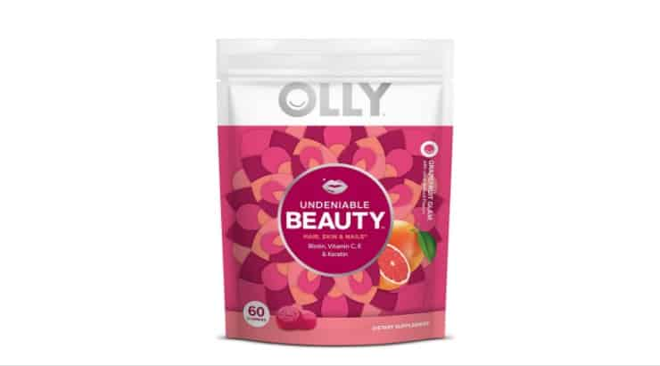 The Olly Undeniable Beauty Gummy contains biotin and keratin, two key ingredients to stronger, healthier hair.